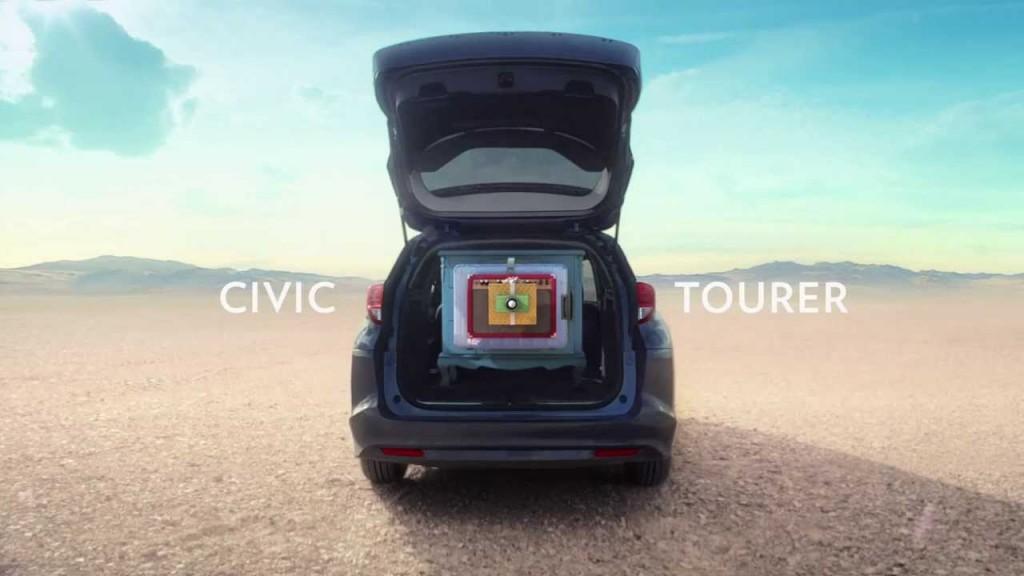 Honda 'Inner Beauty' – New Civic Tourer Video