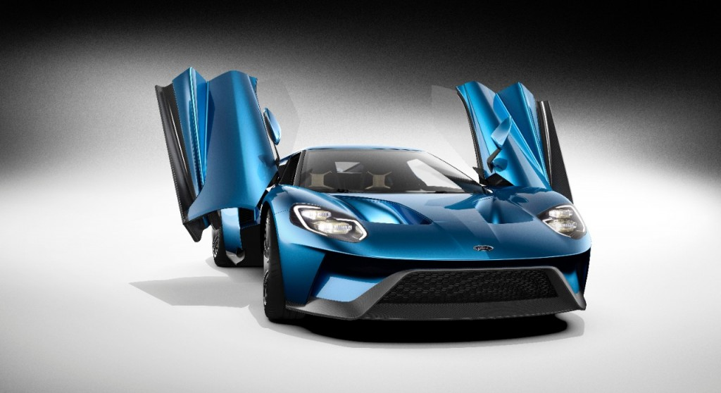 New Ford GT Race Car Might Be At The 2015 24 Hours of Le Mans