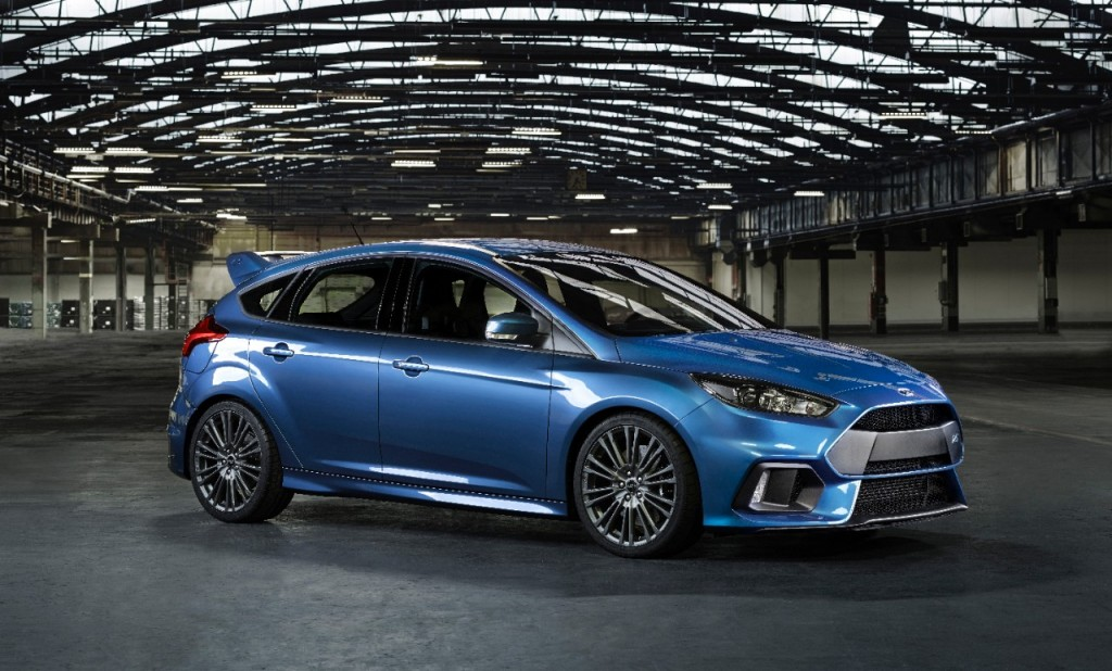 Ford Announces All-New Focus RS And Brings it to the US