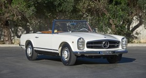 1965 Mercedes-Benz 230 Convertible with Hardtop
