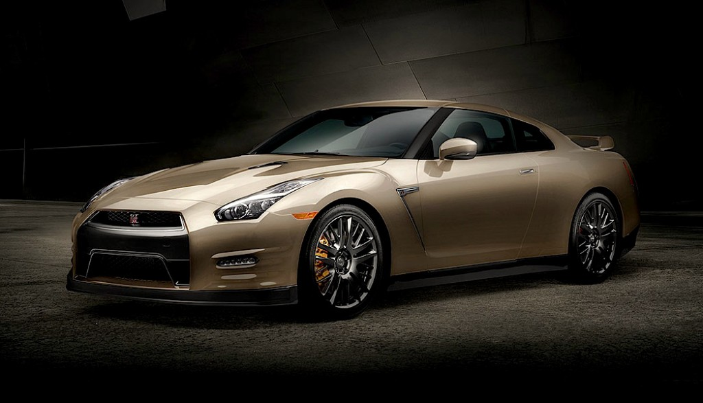2016 Nissan GT-R 45th Anniversary Gold Edition revealed