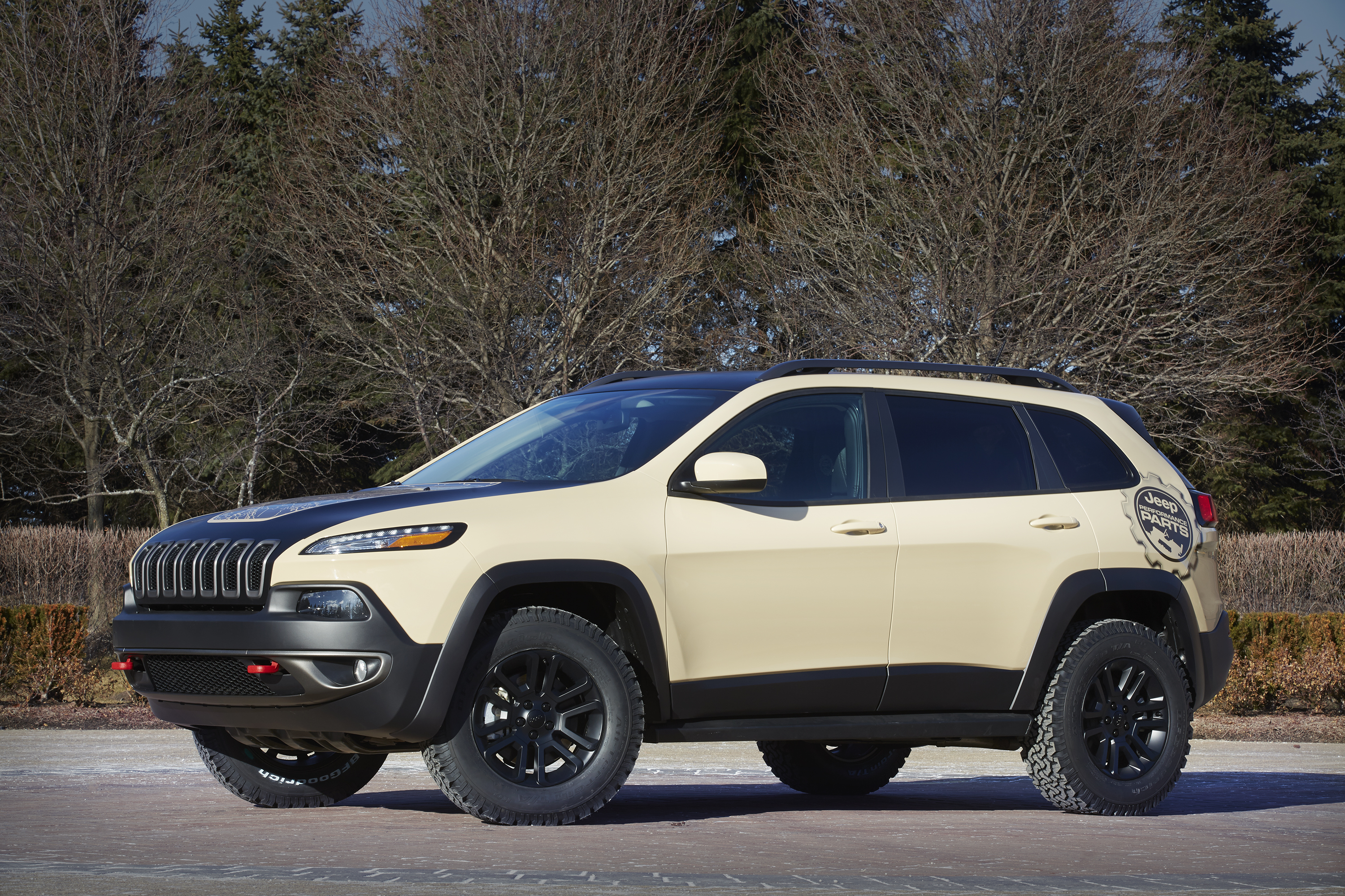Concept Car Jeep Cherokee Canyon Trail