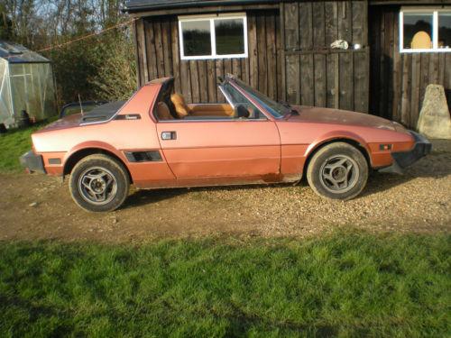 Online Finds: 1981 Fiat X1/9
