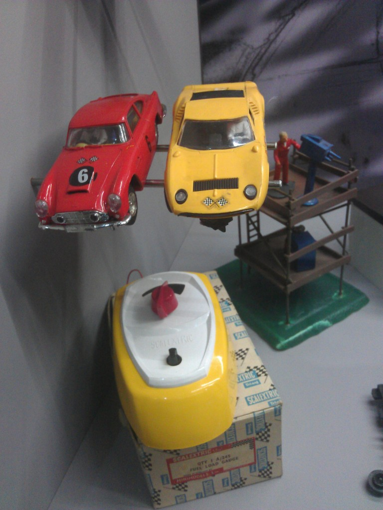 Scalextric slot cars at the Hornby Visitor Centre