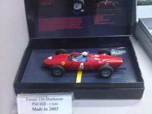 Hornby Centre Scalextric Cars Ferrari 156 Sharknose Phil Hill