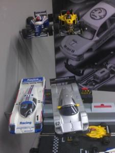 Hornby Centre Scalextric Cars LeMans Porsche