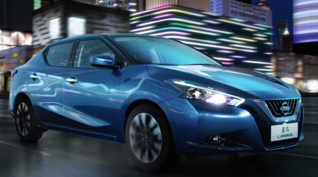 Chinese market Nissan Lannia revealed – video