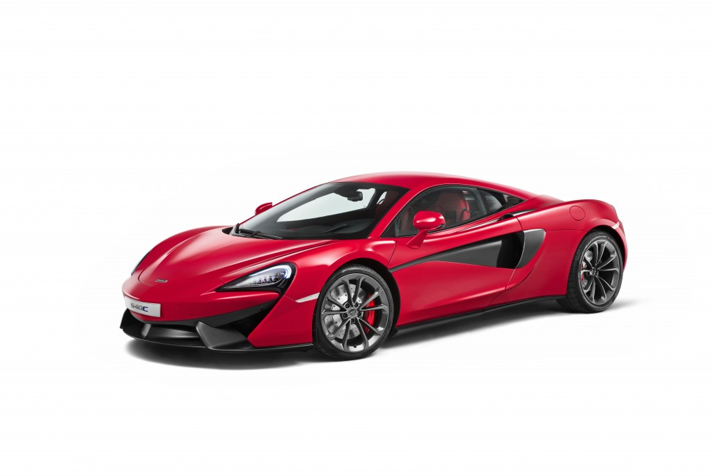 McLaren Continues their Sports Series with Their New 540C