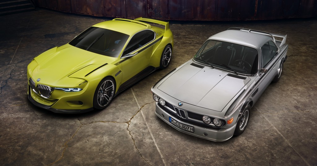 New BMW pays Homage to Classic BMW Racing Coupe