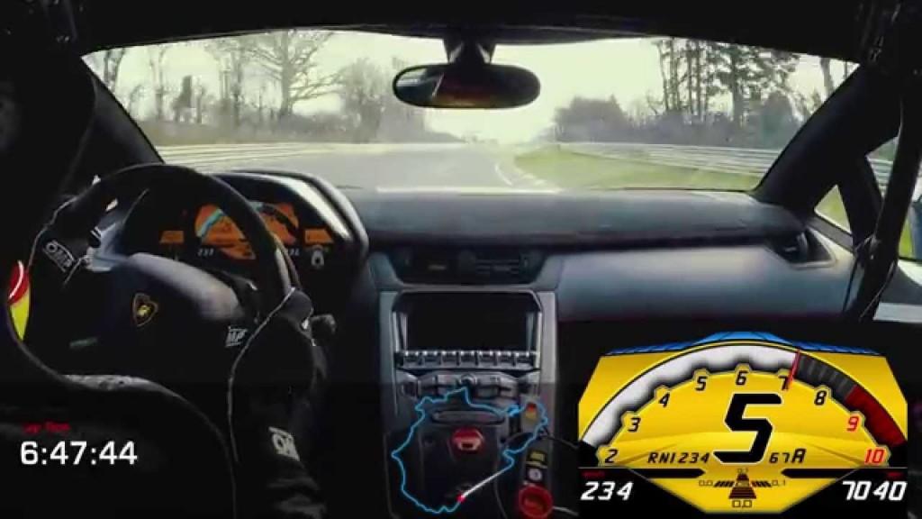 Lamborghini Aventador SV's Super Impressive Nürburgring Lap Time