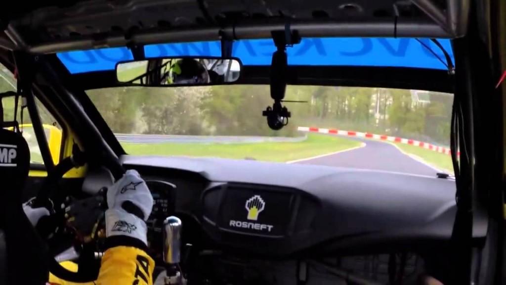 Nurburgring Nordschliefe Onboard lap in a WTCC Lada