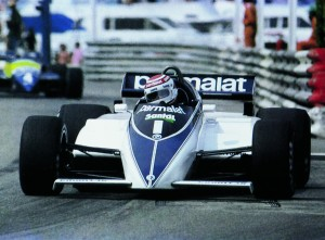 Nelson Piquet and the 1983 Brabham BMW BT52