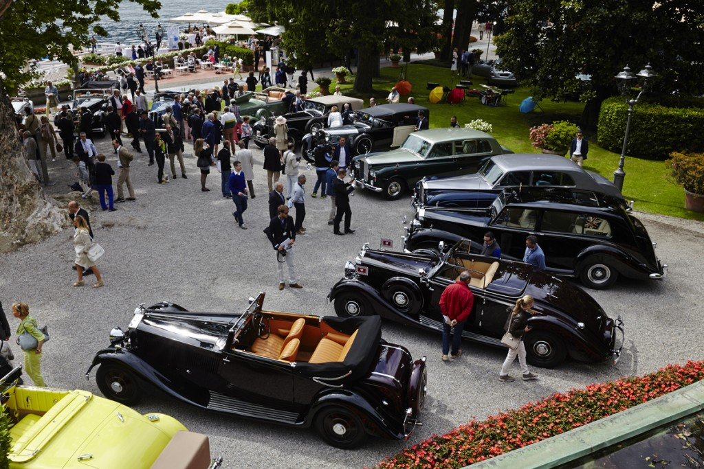 Show Cars of the 2015 Concorso d'Eleganza Villa d'Este