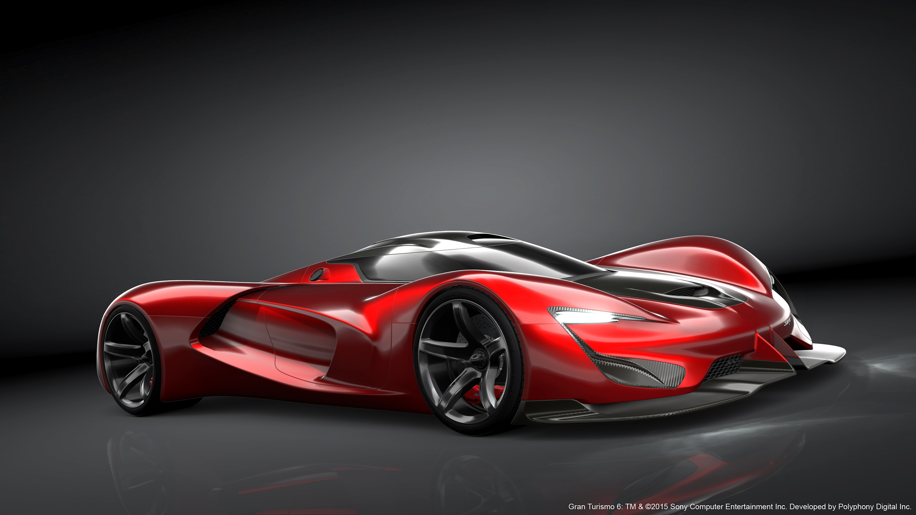 dodge has a new virtual concept srt tomahawk vision gran. Black Bedroom Furniture Sets. Home Design Ideas