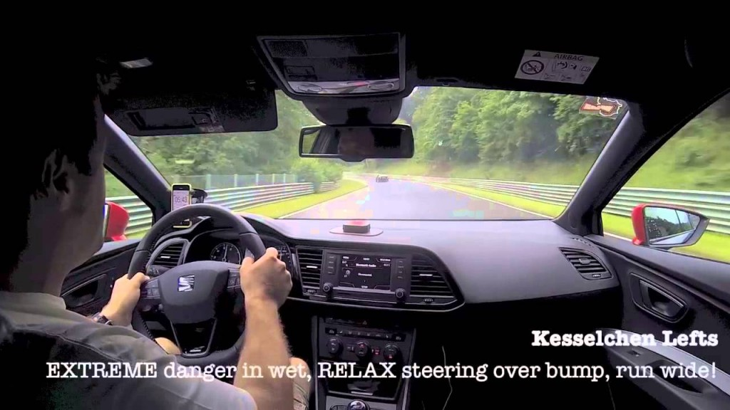Nice Nurburgring Nordschleife Wet Lap video