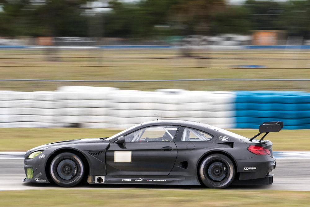 2016 BMW M6 GTLM Testing