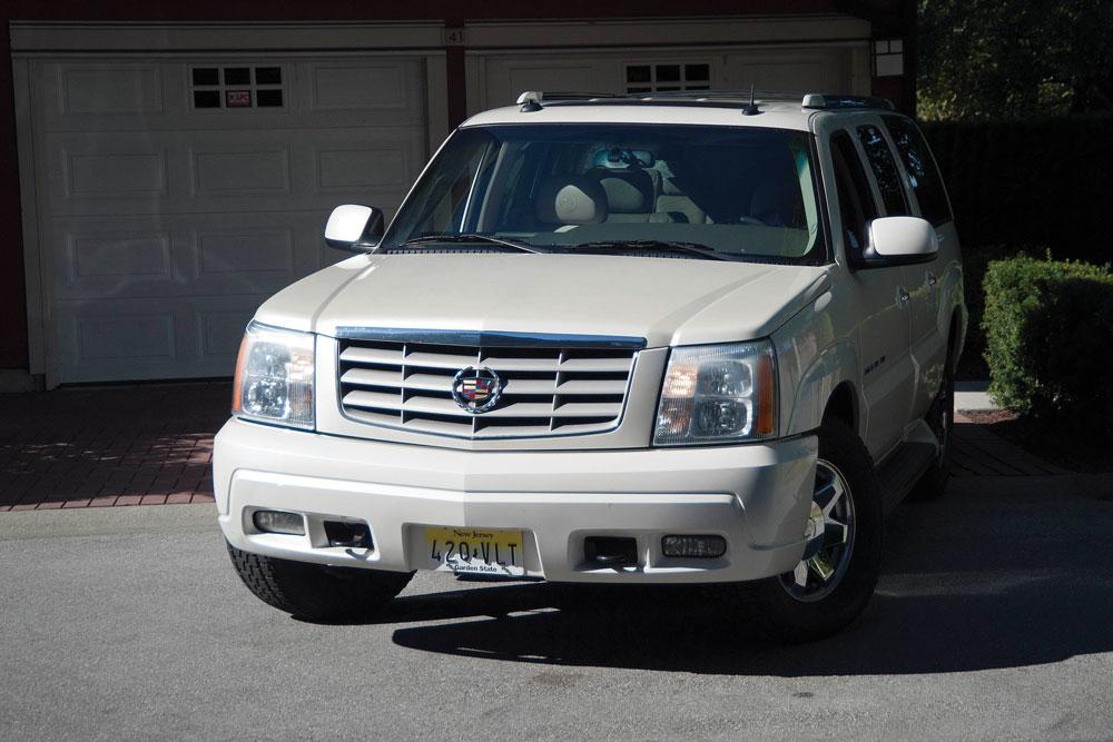 Buy the 2003 Cadillac Escalade used by Tony Soprano