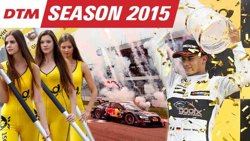 Nice DTM 2015 Season Summary Movie