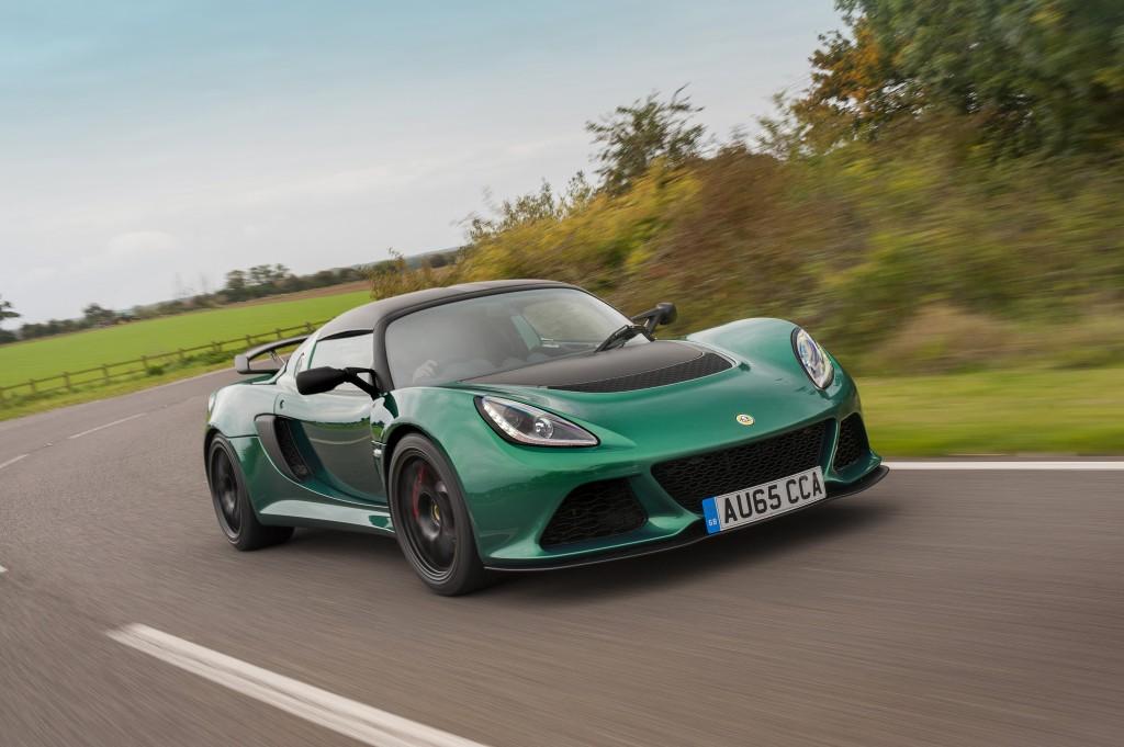 Lotus Exige Sport 350 revealed