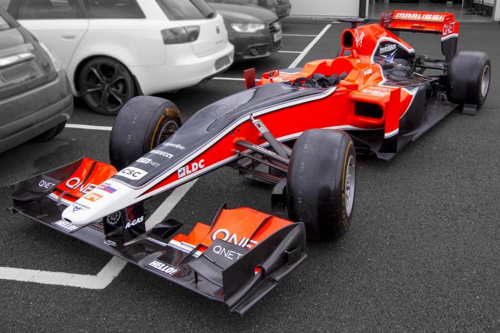 2011 Marussia Virgin MVR02