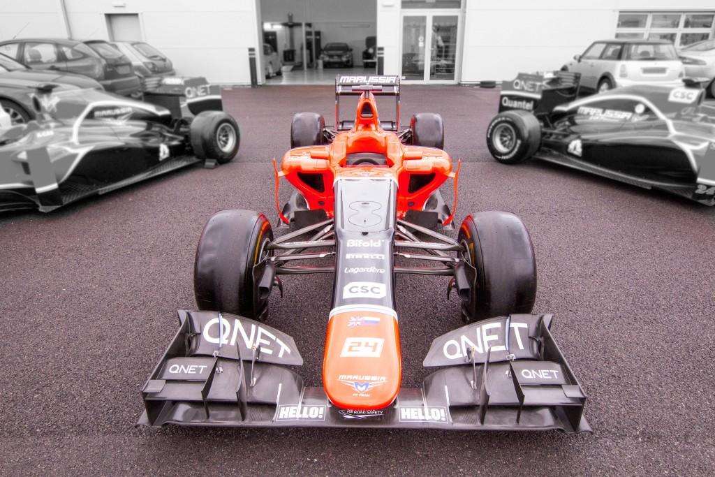 2012 Marussia MR01