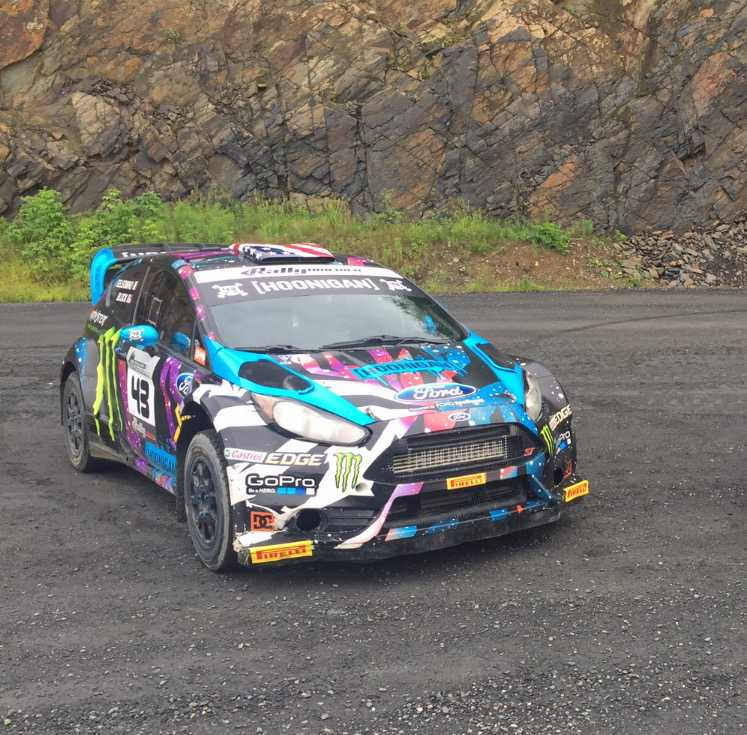 The paintwork on this Fiesta is as crazy as the car itself!