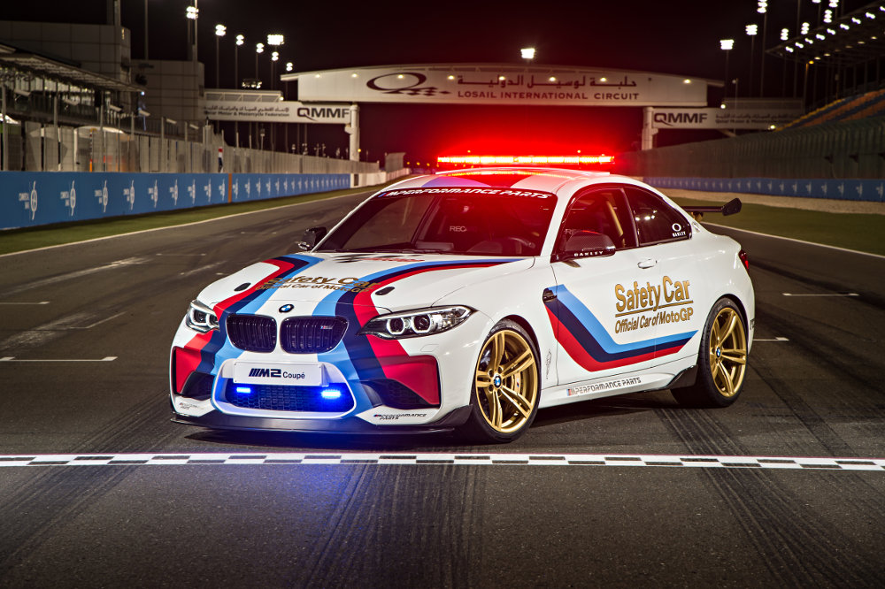 2016 BMW M2 MotoGP Safety Car Debuts at Qatar