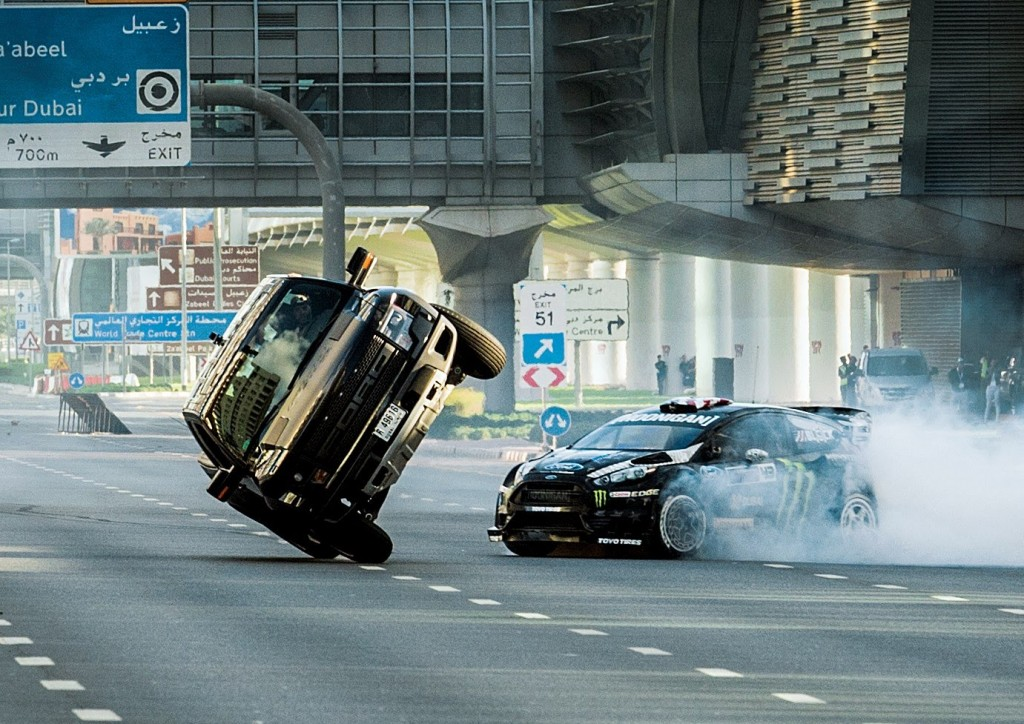 Gymkhana Eight: Ultimate Exotic Playground (Video)