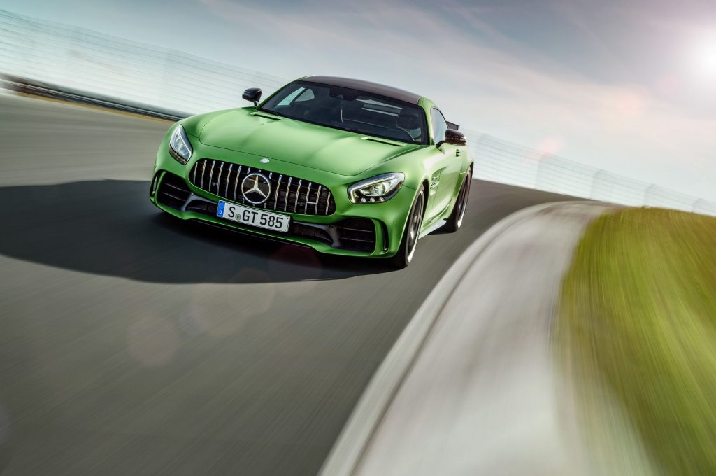 New Mercedes AMG GT R unveiled