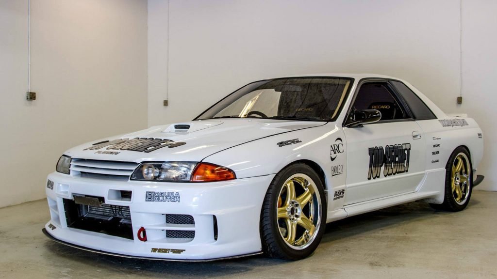 Top Secret Nissan Skyline GT-R VQ35 V32