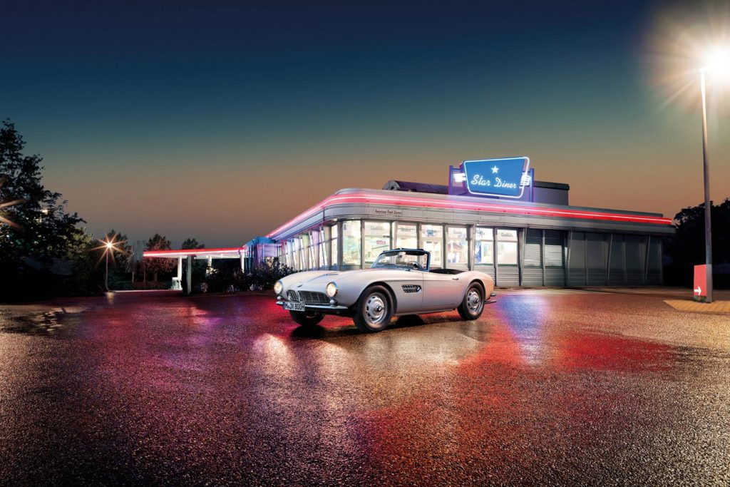 Restoration of Elvis Presley's BMW 507 complete