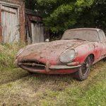 1964 Jaguar 3.8 E-Type Barn Find Up for Auction