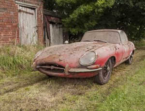 1964 Jaguar 3.8 E-Type barn find