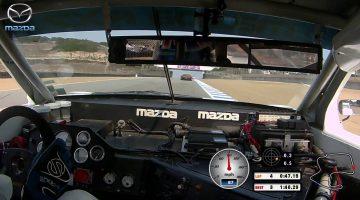 1991 Mazda RX-7 IMSA GTO Onboard Lap at Laguna Seca