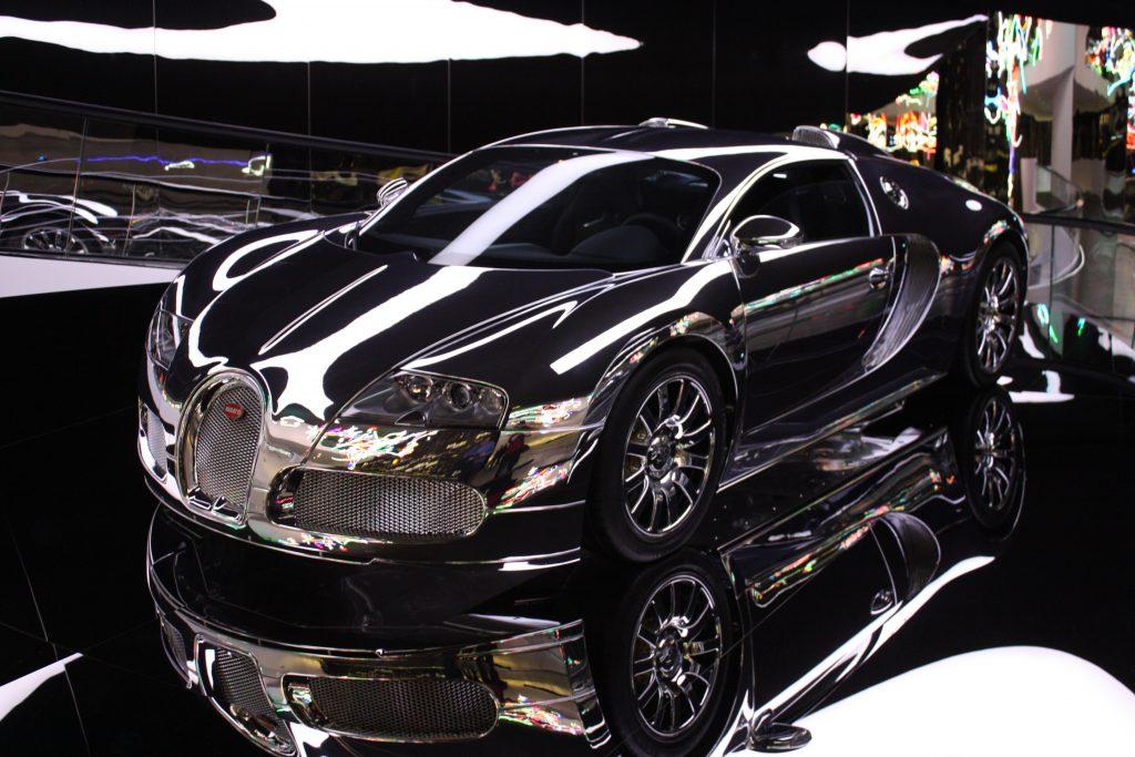 Chrome Bugatti Veyron