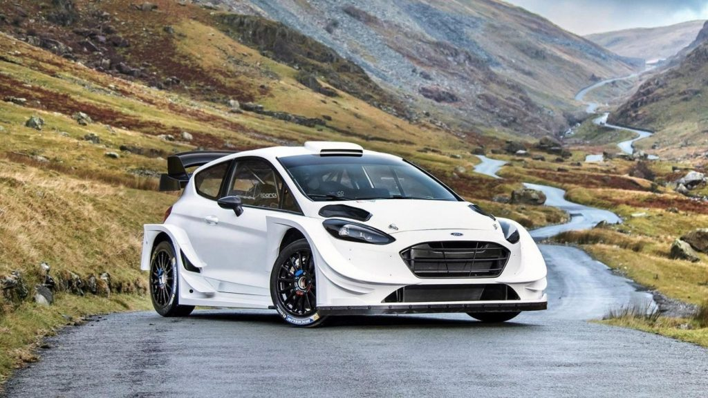 New Ford Fiesta WRC unveiled