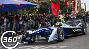 Formula E Marrakesh Street Demo 360 Video