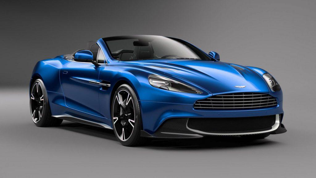 Aston Martin Vanquish S Volante unveiled