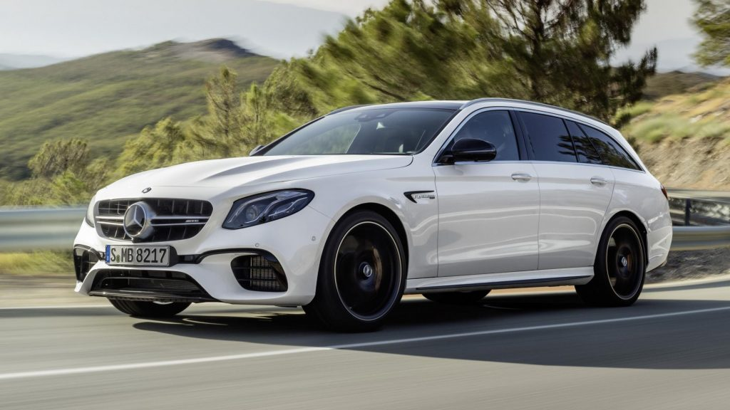 The new Mercedes E63 AMG Estate is here