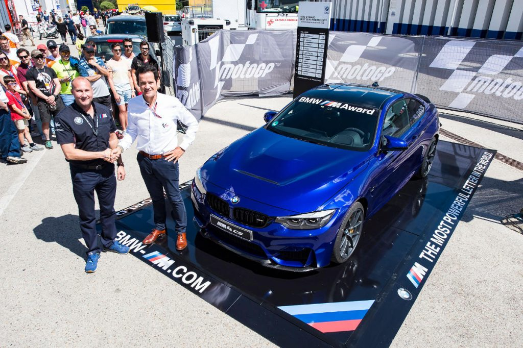 2017 BMW M4 CS for fastest MotoGP Qualifier