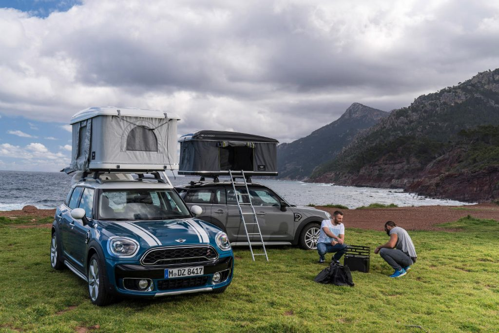 The BMW MINI Countryman AUTOHOME Roof Tent