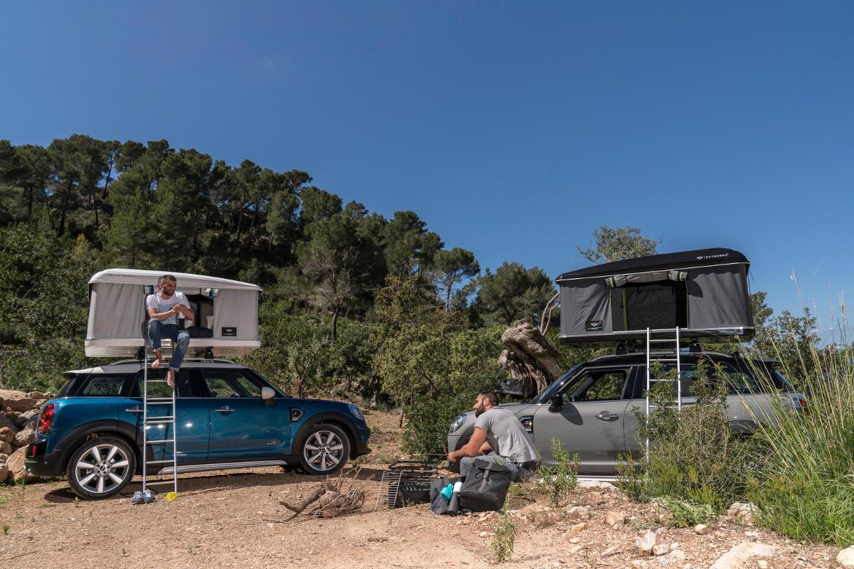 BMW MINI Countryman AUTOHOME Roof Tent & BMW MINI Countryman AUTOHOME Roof Tent 3 - ResCars