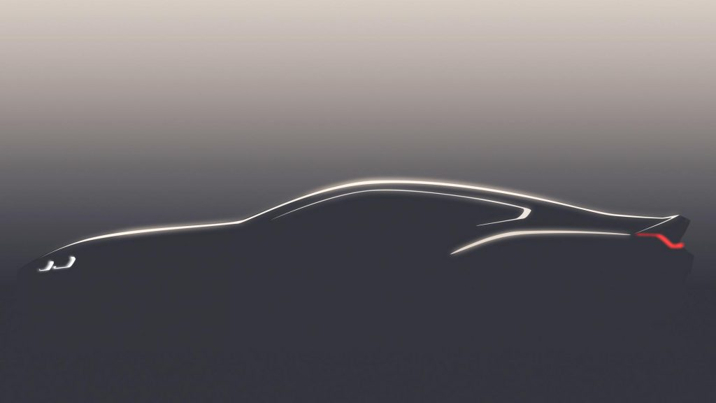 New BMW 8 Series teased in concept sketch