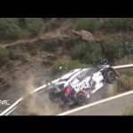 Amazing escape for Rally Driver Thomasz Kasperczyk