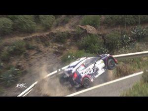 Amazing escape for Rally Driver Thomasz Kasperczyk