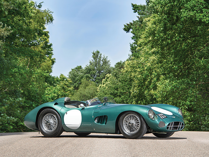 Amazing Aston Martin Auction Includes DBR1 Chassis 1 (Tim Scott Fluid Images (c) 2017 Courtesy RM Sotheby's)