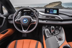 The 2018 BMW i8 Roadster Interior