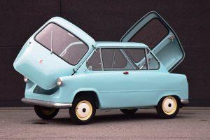 Rare 1958 Zundapp Janus Microcar For Sale Doors Open
