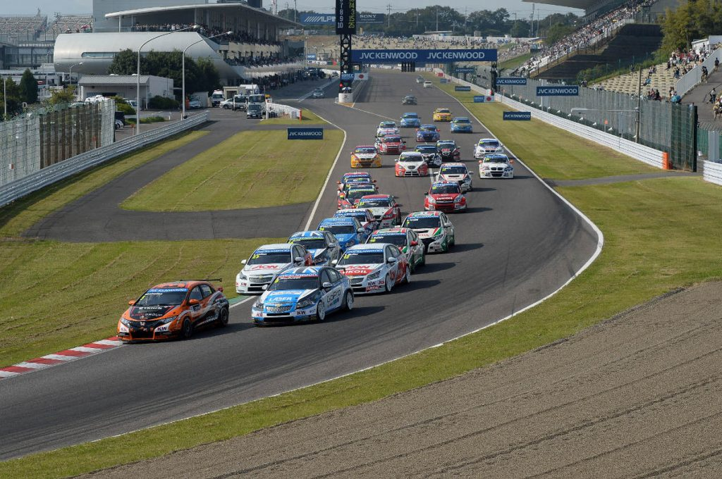 FIA WTCR and Japanese Super Formula at Suzuka in 2018