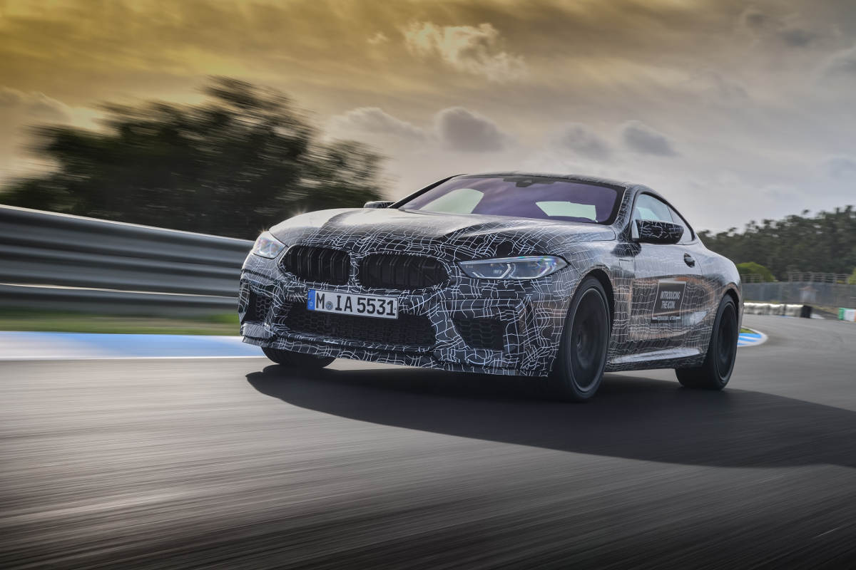2019 BMW M8 Prototype Undergoes Testing In Estoril